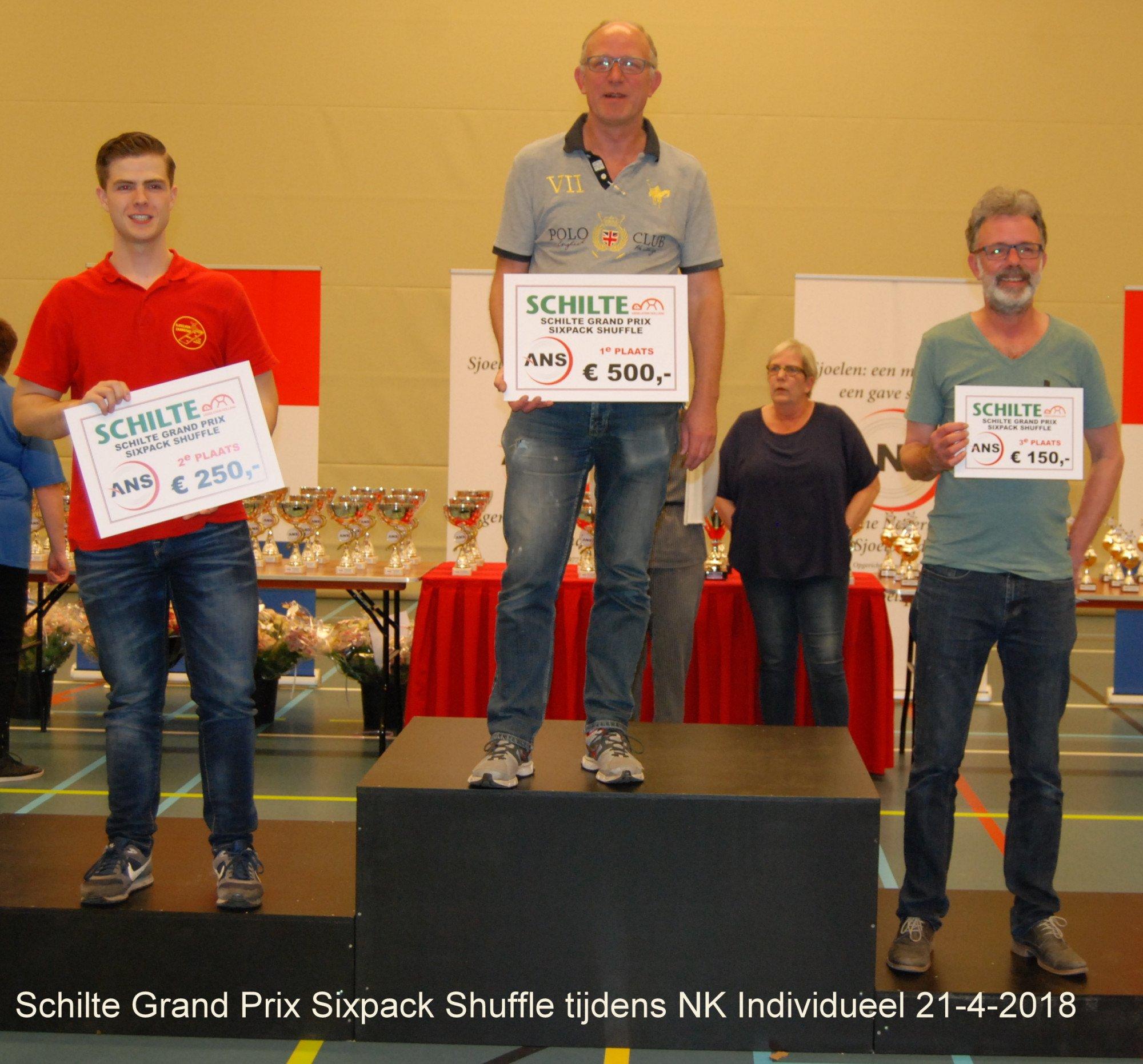 1. Schilte Grand Prix Sixpack Shuffle 21-4-2018