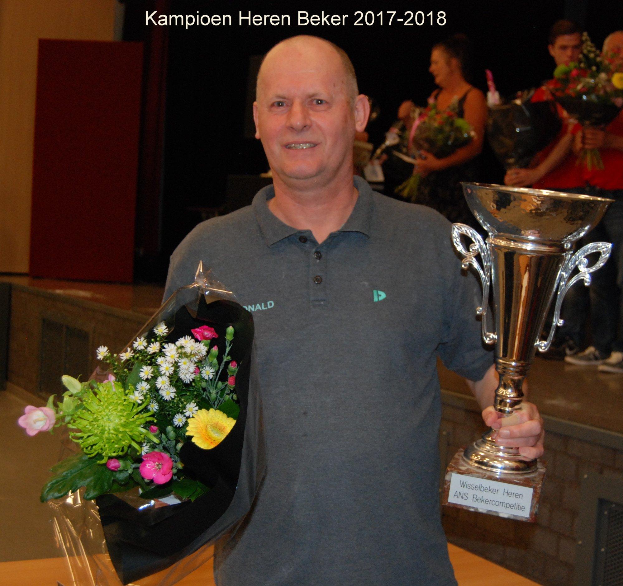Kampioen Heren Beker 2017-2018