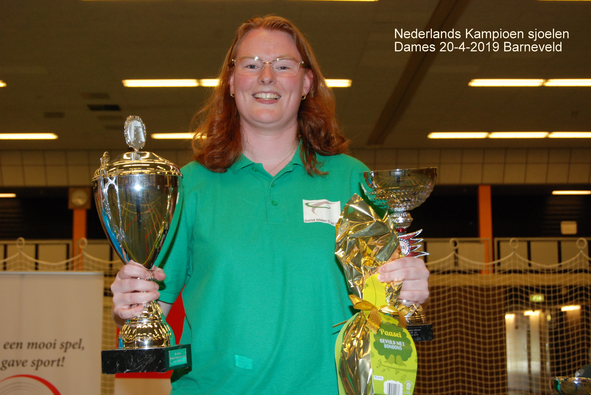 1. Nederlands Kampioen sjoelen Dames 2019